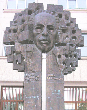 JVA Statue
